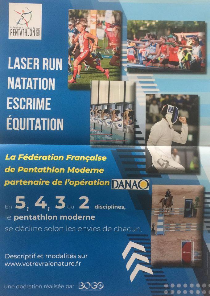 Une belle opération est lancée par la fédération de pentathlon et Danao.